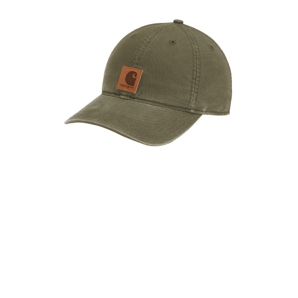 Carhartt Hat  Custom Embroidered CT100289 Army Green
