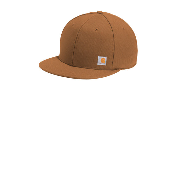Carhartt Hat Carharrt Brown Custom Embroidered CT101604