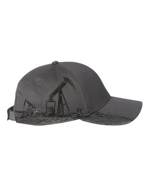 Dri DUCK Oil Field Cap Custom Embroidered 3330 Grey
