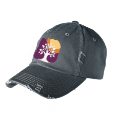 Bobcat Ridge - District® - Custom Embroidered Distressed Hat (DT600)