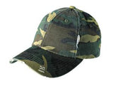 District Twill Hat Camo Custom Embroidered DT600