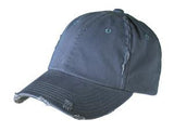 District Twill Hat Navy Custom Embroidered DT600