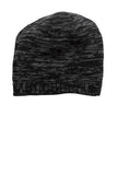 District Beanie Black Charcoal Custom Embroidered DT620