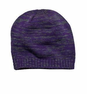 Custom Embroidered Purple Beanie