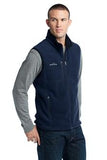 Eddie Bauer Fleece Vest River Blue Custom Embroidered EB204