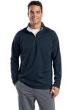 Sport Tek Quarter Zip Fleece Pullover Custom Embroidered F243 Navy