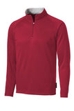 Sport Tek Quarter Zip Fleece Pullover Custom Embroidered F243red