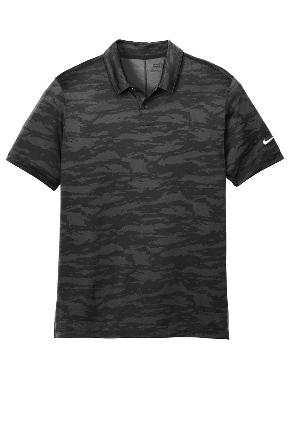 Nike  Dri Fit polo Black Custom Embroidered NKAA1849