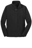 Port Authority Soft Shell Jacket Black Custom Embroidered J317