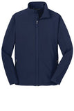 Port Authority Soft Shell Jacket Navy Custom Embroidered J317