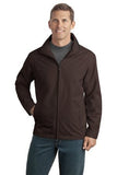 Port Authority Jacket Brown Custom Embroidered J701