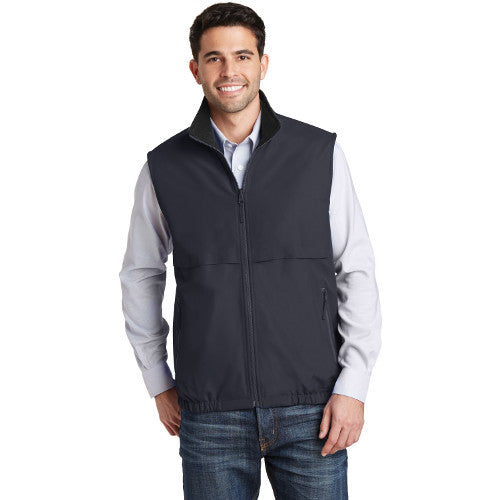 Port Authority Reversible Vest Battleship Grey Custom Embroidered J7490
