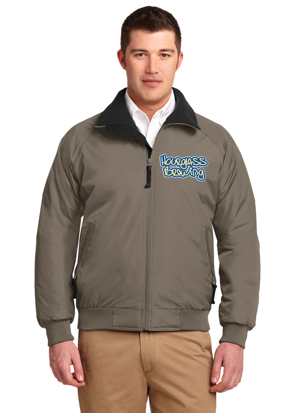 Port Authority Jacket  Custom Embroidered J754 Khaki