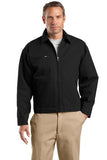 CornerStone Work Jacket Black Custom Embroidered J763
