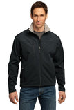 Black/Chrome Port Authority Embroidered Jacket j790