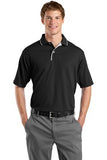 Sport Tek Dry mesh Polo Custom Embroidered K467 black