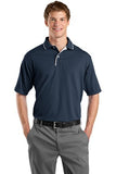 Sport Tek Dry mesh Polo Custom Embroidered K467 navy