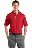 Sport Tek Dry mesh Polo Custom Embroidered K467 red