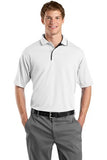 Sport Tek Dry mesh Polo Custom Embroidered K467 White