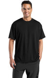 Sport Tek Dri Mesh T Shirt Black Custom Embroidered K468