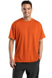 Sport Tek Dri Mesh T Shirt Orange Custom Embroidered K468
