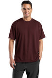 Sport Tek Dri Mesh T Shirt Maroon Custom Embroidered K468