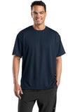 Sport Tek Dri Mesh T Shirt Navy Custom Embroidered K468