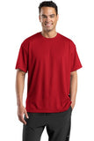 Sport Tek Dri Mesh T Shirt Red Custom Embroidered K468