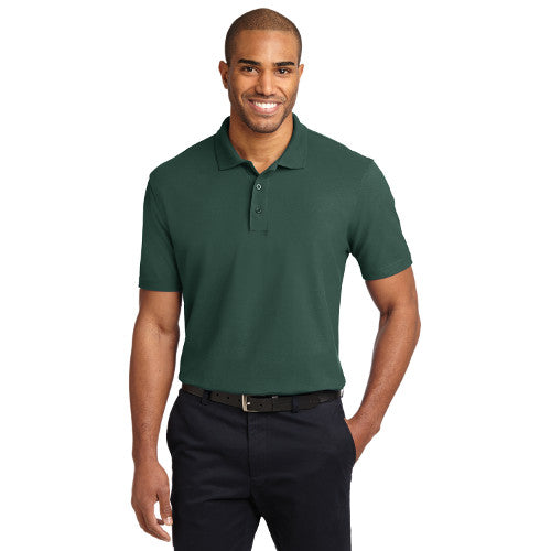 Back Bone - Port Authority Embroidered Stain-Resistant Polo (K510)
