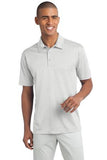 White Port Authority Embroidered Polo shirts K540
