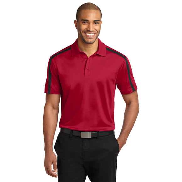 Rim Rock - Port Authority® Silk Touch™ Performance Colorblock Stripe Polo (K547)