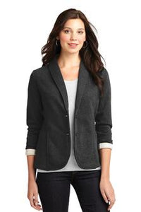 Port Authority Ladies Fleece Blazer Navy Custom Embroidered L298