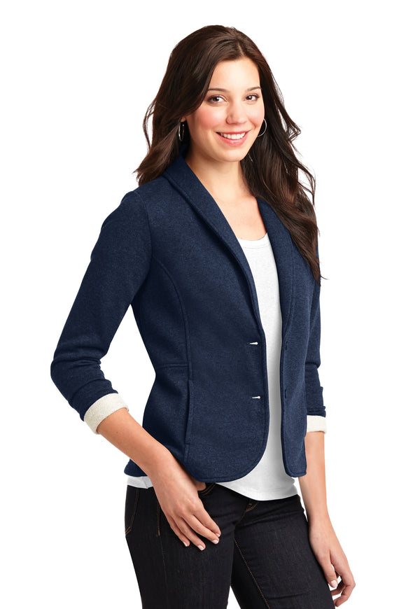 L298 Loveland Port Authority® Ladies Fleece Blazer
