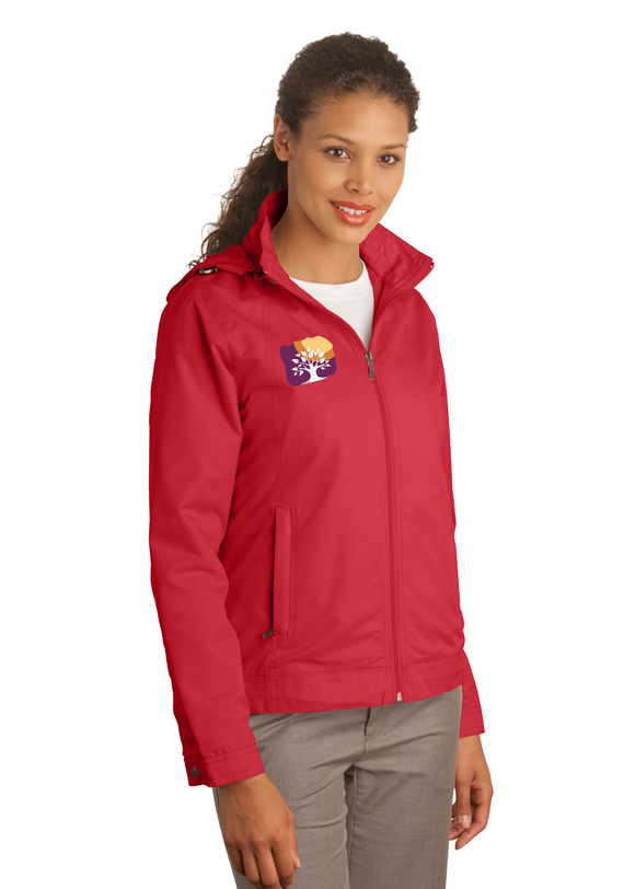 Port Authority Ladies Jacket Red Custom Embroidered L701