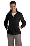 Port Authority Ladies Jacket Black Custom Embroidered L701