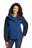 Port Authority Ladies Jacket Blue Navy Custom Embroidered L792