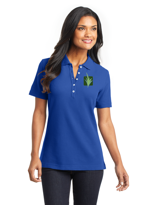 Rockin A - Port Authority® Ladies EZCotton™ Pique Embroidered Polo Shirts (L800)