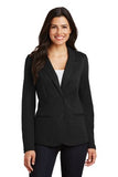 Port Authority Knit Blazer Black Custom Embroidered LM2000