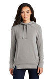 OGIO Ladies Luuma Pullover Fleece Hoodie Custom Embroidered LOG810 Petrol Grey Heather