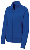 Sport Tek Ladies Full Fleece Jacket Royal Custom Embroidered LST241