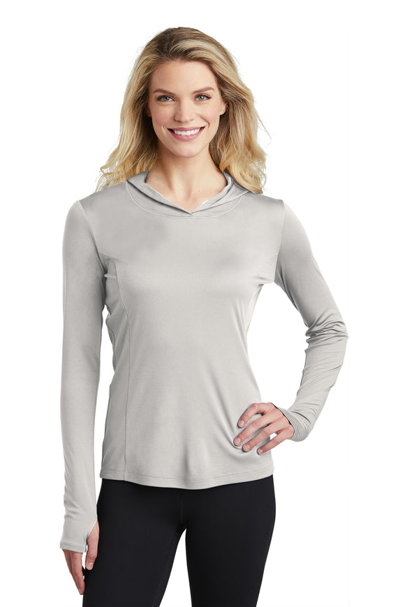 LST358 Sugar City Sport-Tek ® Ladies PosiCharge ® Competitor ™ Hooded Pullover