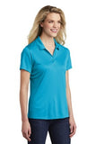 Sport Tek Ladies Polo Atomic Blue Custom Embroidered LST550