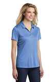 Sport Tek Ladies Polo Carolina Blue Custom Embroidered LST550