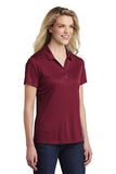 Sport Tek Ladies Polo Maroon Custom Embroidered LST550