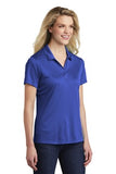 Sport Tek Ladies Polo Royal Custom Embroidered LST550
