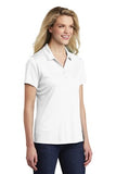 Sport Tek Ladies Polo White Custom Embroidered LST550