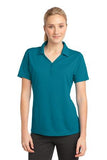 Sport Tek Ladies Micro Mesh Polo Blue Wake Custom Embroidered LST680