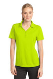 Sport Tek Ladies Micro Mesh Polo Citron Custom Embroidered LST680