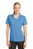 Sport Tek Ladies Micro Mesh Polo Carolina Blue Custom Embroidered LST680