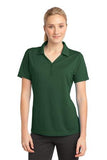 Sport Tek Ladies Micro Mesh Polo Forest Green Custom Embroidered LST680